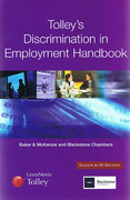 Cover of Tolley's Discrimination in Employment Handbook