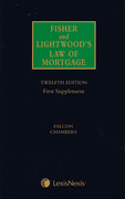 Cover of Fisher and Lightwood's Law of Mortgage 12th ed 1st supplement