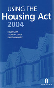 Cover of Using the Housing Act 2004