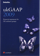 Cover of Deloitte ukGAAP 2009: Financial Statements for UK Unlisted Groups