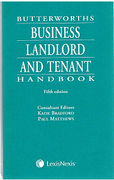 Cover of Butterworths Business Landlord and Tenant Handbook