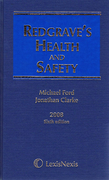 Cover of Redgrave's Health and Safety 6th ed with Supplement