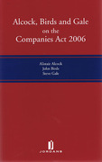 Cover of Alcock, Birds and Gale on the Companies Act 2006