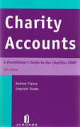 Cover of Charity Accounts: A Practitioner's Guide to the Charities SORP