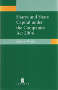 Cover of Shares and Share Capital Under the Companies Act 2006