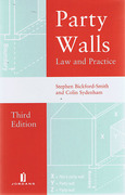 Cover of Party Walls: Law and Practice