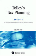 Cover of Tolley's Tax Planning 2010 - 2011