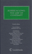 Cover of Borrie & Lowe: Law of Contempt