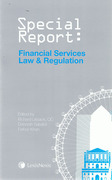 Cover of Special Report: Financial Services Law and Regulation