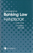 Cover of Butterworths Banking Law Handbook
