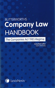 Cover of Butterworths Company Law Handbook: The Companies Act 1985 Regime
