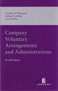 Cover of Company Voluntary Arrangements and Administration