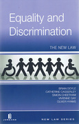 Cover of Equality and Discrimination: The New Law
