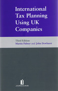 Cover of International Tax Planning Using UK Companies