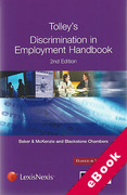 Cover of Tolley's Discrimination in Employment Handbook (eBook)