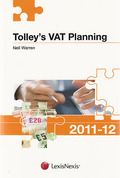 Cover of Tolley's VAT Planning 2011-2012