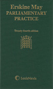 Cover of Erskine May Parliamentary Practice