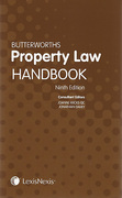 Cover of Butterworths Property Law Handbook