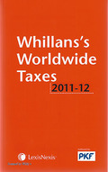 Cover of Whillans's Worldwide Taxes 2011-2012