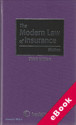 Cover of The Modern Law of Insurance (eBook)