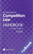 Cover of Butterworths Competition Law Handbook 2011 (Book & eBook Pack)