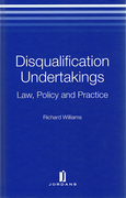 Cover of Disqualification Undertakings: Law, Policy and Practice