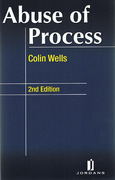 Cover of Abuse of Process: A Practical Approach