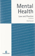 Cover of Mental Health: Law and Practice