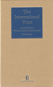 Cover of The International Trust