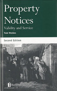 Cover of Property Notices: Validity and Service