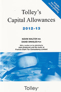 Cover of Tolley's Capital Allowances 2012-13