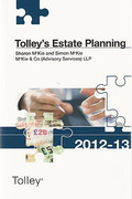 Cover of Tolley's Estate Planning 2012-13