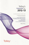 Cover of Tolley's Corporation Tax 2012-13