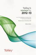 Cover of Tolley's Inheritance Tax 2012-13