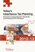 Cover of Tolley's Inheritance Tax Planning 2012-13