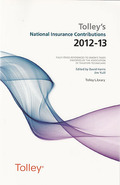 Cover of Tolley's National Insurance Contributions 2012-13