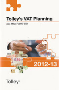 Cover of Tolley's VAT Planning 2012 - 13