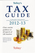 Cover of Tolley's Tax Guide 2012-2013