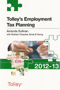 Cover of Tolley's Employment Tax Planning 2012-13