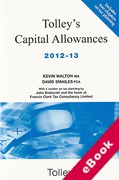 Cover of Tolley's Capital Allowances 2012-13 (eBook)