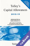 Cover of Tolley's Capital Allowances 2012-13 (Book & eBook Pack)
