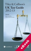 Cover of Tiley & Collison's: UK Tax Guide 2012 - 13 (eBook)