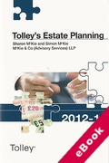 Cover of Tolley's Estate Planning 2012-13 (eBook)