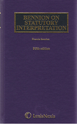 Cover of Bennion on Statutory Interpretation 5th ed with 2nd Supplement