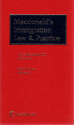 Cover of Macdonald's Immigration Law and Practice 8th ed with 1st Suppements to both Volumes