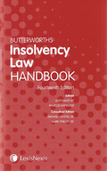 Cover of Butterworths Insolvency Law Handbook 14th ed: 2012