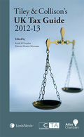 Cover of Tiley & Collison's: UK Tax Guide 2012 - 13