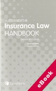 Cover of Butterworths's Insurance Law Handbook (eBook)