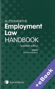 Cover of Butterworths Employment Law Handbook 2012 (Book & eBook Pack)
