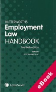 Cover of Butterworths Employment Law Handbook 2012 (eBook)
